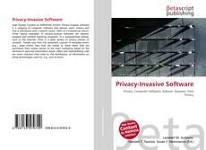 Bookcover of Privacy-Invasive Software