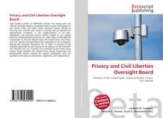 Portada del libro de Privacy and Civil Liberties Oversight Board