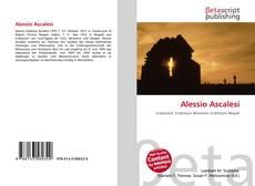 Couverture de Alessio Ascalesi