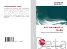 Bookcover of Patma-Banasirakan Handes