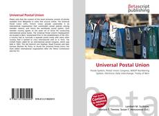 Bookcover of Universal Postal Union