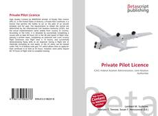 Bookcover of Private Pilot Licence