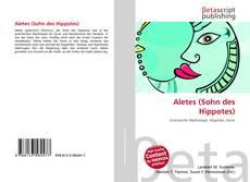 Capa do livro de Aletes (Sohn des Hippotes)