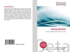 Buchcover von Sonny Barrios