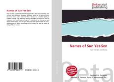Capa do livro de Names of Sun Yat-Sen