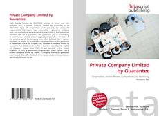 Private Company Limited by Guarantee的封面