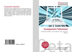 Bookcover of Component Television