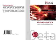 Capa do livro de CommuniGate Pro