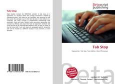 Buchcover von Tab Stop