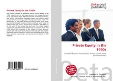 Bookcover of Private Equity in the 1990s