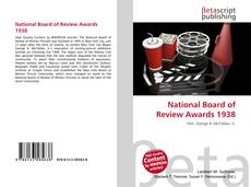 Обложка National Board of Review Awards 1938
