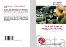 Copertina di National Board of Review Awards 1940