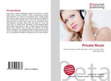 Portada del libro de Private Music
