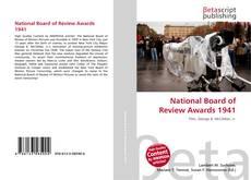 Copertina di National Board of Review Awards 1941