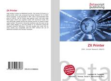 Portada del libro de ZX Printer