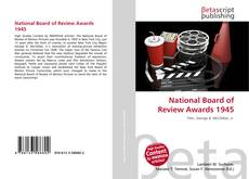 Bookcover of National Board of Review Awards 1945