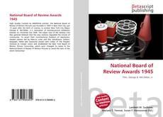 National Board of Review Awards 1945 kitap kapağı