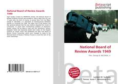 Bookcover of National Board of Review Awards 1949
