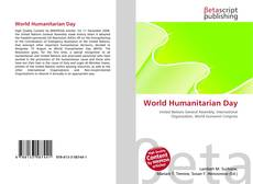 Bookcover of World Humanitarian Day