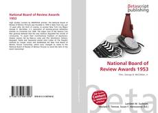 Buchcover von National Board of Review Awards 1953