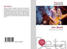 Portada del libro de Alev (Band)