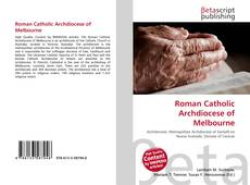 Bookcover of Roman Catholic Archdiocese of Melbourne