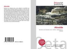 Capa do livro de Alevelde