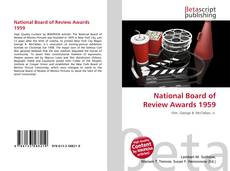 Buchcover von National Board of Review Awards 1959