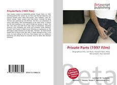 Capa do livro de Private Parts (1997 Film)
