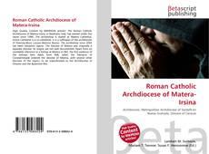 Обложка Roman Catholic Archdiocese of Matera-Irsina