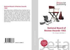 Copertina di National Board of Review Awards 1965