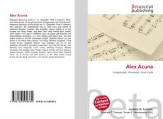 Bookcover of Alex Acuna