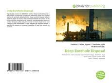 Обложка Deep Borehole Disposal