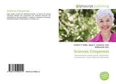 Bookcover of Sciences Citoyennes