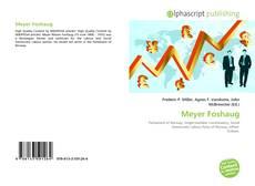 Meyer Foshaug的封面