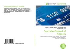 Bookcover of Controller-General of Finances