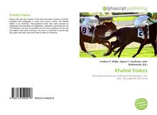 Bookcover of Khaled Stakes