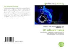 GUI software Testing的封面