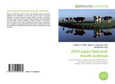 Bookcover of 2010 Japan foot-and-mouth outbreak