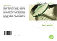 Обложка Zeno Vendler