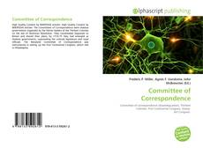 Bookcover of Committee of Correspondence