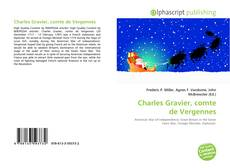 Bookcover of Charles Gravier, comte de Vergennes