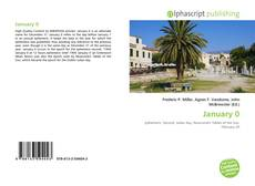 Capa do livro de January 0