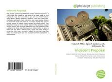 Bookcover of Indecent Proposal