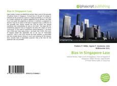 Portada del libro de Bias in Singapore Law