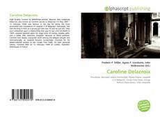 Portada del libro de Caroline Delacroix