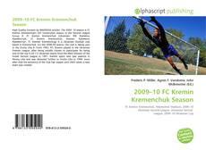 Bookcover of 2009–10 FC Kremin Kremenchuk Season