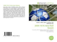 Bookcover of 2009–10 FC Iskra-Stali Season