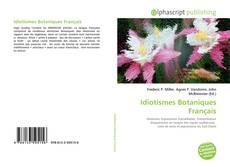 Couverture de Idiotismes Botaniques Français