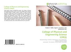 Capa do livro de College of Physical and Engineering Science (CPES)